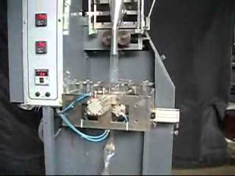 Automatic Vertical FFS (Pneumatic) Machine for Triangular (Pyramid Pouches)