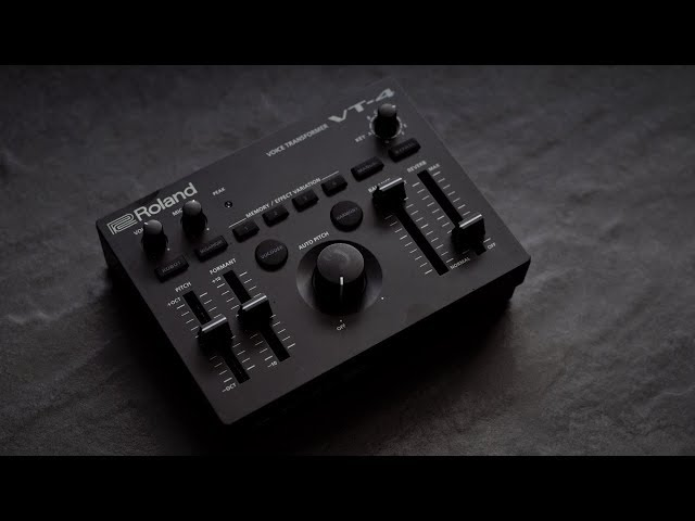 Roland VT-4 Voice Transformer: Transform Your Voice Live or in the Studio