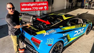 WE SUPERCHARGED MY BEST FRIENDS LAMBORGHINI! *DELIVERY DAY*