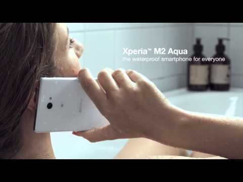 Xperia™ M2 Aqua announced – an affordable, waterproof smartphone [video]