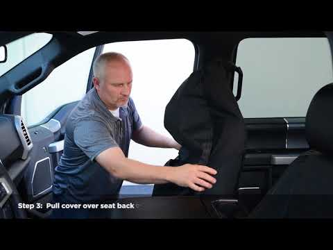 Universal Fit Seat Cover Installation Guide