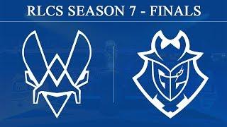 Vitality vs G2   RLCS Season 7 - Finals (23rd June 2019)