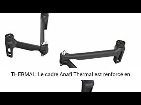 Parrot - Kit Mécanique pour Drone Anafi Thermal - 2 Bras Avant + 2 Bras Arrière + Charnière