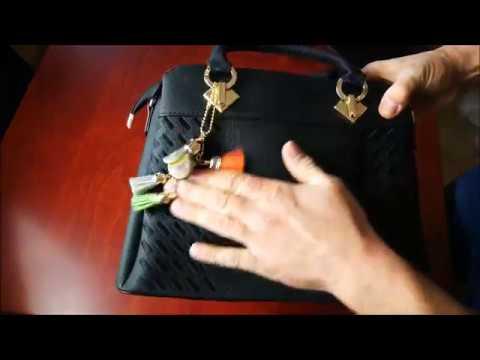 Damen Handtasche - Große Mode-Design Tragetaschen Damen Umhängetasche Top Griff Taschen(Schwarz)