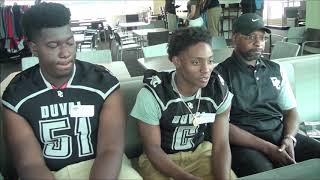 PRESSBOX SHOW HS MEDIA DAY Duval Charter