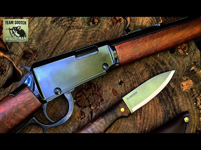 Sootch00 Reviews the Lever Action Carbine .22