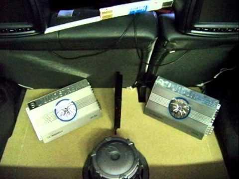Corsa C Black Magic Kofferraumausbau