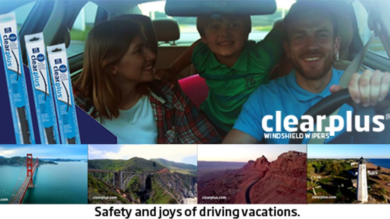 Clearplus Campaign for Safety & Joys of Driving Vacations
