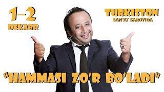 Afisha - Sanjar Shodiyev - Hammasi zo