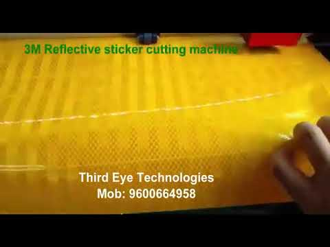 Wall Paper Sticker Cutting Machine