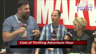 More Thrilling Adventure Hour on Marvel LIVE! at San Diego Comic-Con 2015