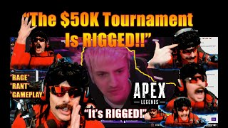 DrDisrespect's $50K Apex Legends TOURNAMENT! - ROASTS, RAGES, & Funny Moments! (Timestamps + Chat)