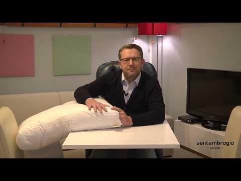 Claudio Santambrogio vi spiega: come produciamo i cuscini in piuma d'oca