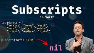 Subscripts in Swift: The shortcut to your data!