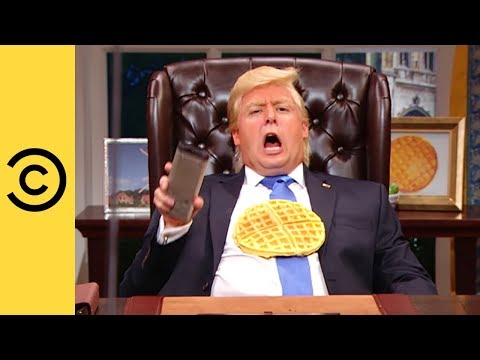 The President Screams At The TV - The President Show | Comedy Central