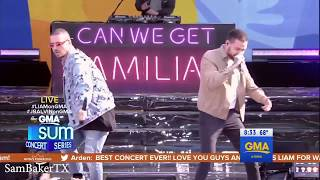 Familiar - Liam Payne Ft J Balvin -  On Summer Concert Series Gma 15 05 2018