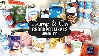 5 Quick & Easy Crock Pot Meals | What's For Dinner