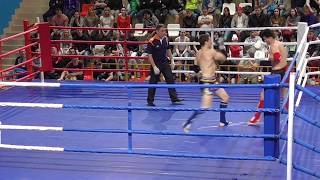 PRO-AM Турнир Россия vs Киргизия, 5 бой, 2 раунд