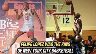He Was Called the Dominican Michael Jordan! The Felipe Lopez Basketball Story