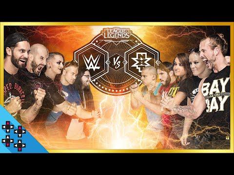 WWE VS NXT 英雄聯盟整場精華(包括出場介紹)