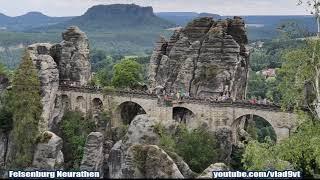 Felsenburg Neurathen Niemcy-nagranie w j.rosyjskim
