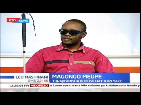 Magongo meupe: Fimbo nyeupe inatumiwa na wasioona