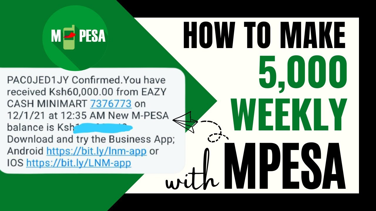How To Earn Money Online In Kenya Through Mpesa With EazyCash thumbnail