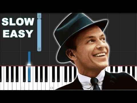 Frank Sinatra - Fly Me To The Moon (SLOW EASY PIANO TUTORIAL)