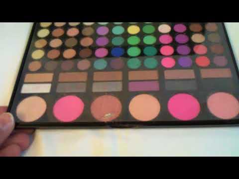 78 colori di trucco gamma di colori dell\'ombretto arrossisce