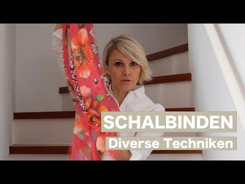 5 Möglichkeiten Halstücher zu binden - Luisa Rossi