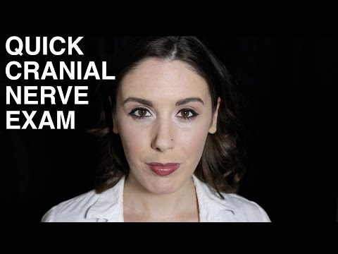 ASMR Cranial Nerve Exam Role Play: Quick Fix Friday (Binaural, 3Dio)