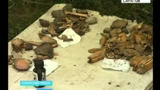Первокурсники начали раскопки в Аткарске