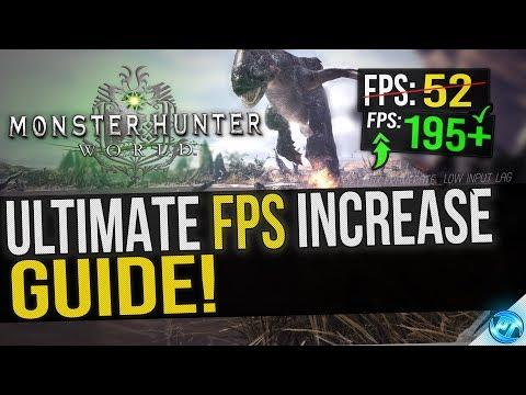 Complete Monster Hunter World PC Optimization Guide