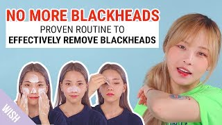 5 Simple Steps for Ultimate Blackhead Removal | SKINMISO Blackhead Removal Package | Wishtrend