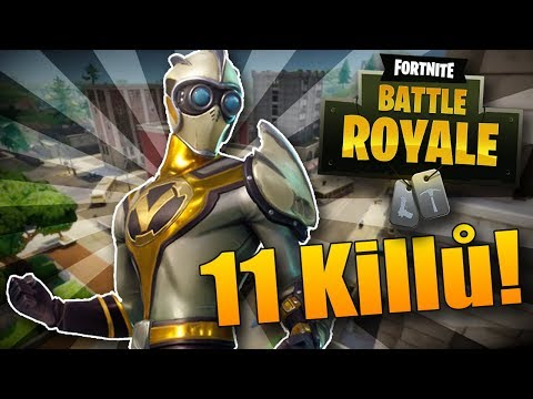 MŮJ REKORD VE FORTNITU! 11 KILLŮ! - Fortnite Battle Royale CZ/SK Highlights
