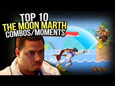 Top 10 The Moon Marth Combos/Plays | Melee