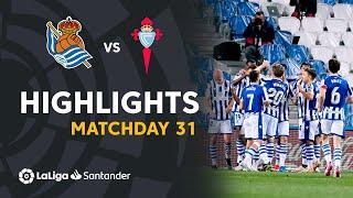 Highlights Real Sociedad vs RC Celta (2-1)
