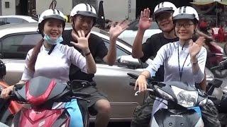 【越南新玩法】奧黛小姐機車導遊帶你吃喝玩樂胡志明市  New way of tour ladies in Ho Chi Minh city - XO Tours
