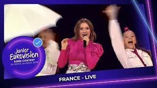 France 🇫🇷   Carla   Bim Bam Toi   LIVE   Junior Eurovision 2019