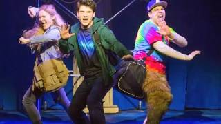 """George Salazar on """"The Lightning Thief: The Percy Jackson Musical"""""""
