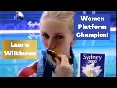 2000 Laura Wilkinson USA - 5251D - 8.5s 9s - Olympic Win!