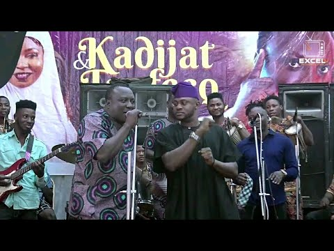 Sanyeri, Muyiwa, odunlade gives dancing steps to saheed osupa in Igbeyawo Olaniyi Sunday