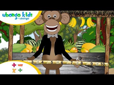 Jifunze aina ya sehemu!   Darasani na Ubongo Kids   Katuni za Kiswahili
