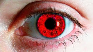 15 RAREST Eye Colors People Actually Have !