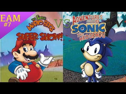 Mario & Sonic, and The Identities of 80s and 90s Cartoons