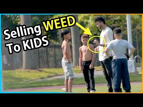Selling WEED to Kids Experiment (Social Experiment)