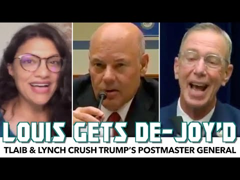 Tlaib & Lynch Crush Trump's Postmaster General