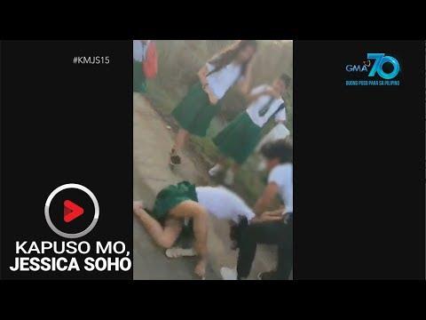 [GMA]  Kapuso Mo, Jessica Soho: Rambulan sa eskwelahan, caught on cam!
