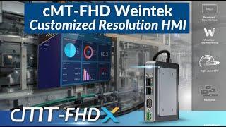 cMT-FHD Weintek Customized Resolution HMI / C1D2 Class 1 Div 2 Drivers