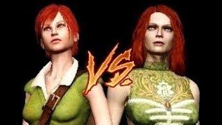 THE WITCHER - Choice between Triss and Shani (both outcomes + Shani secret card)